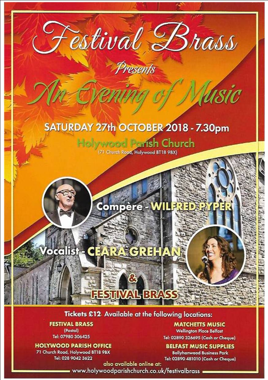 Concert on the 27th October 2018
